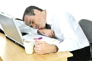 slapen medewerker